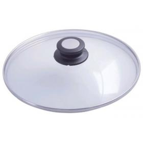 De Buyer 4112.32 Крышка, стекло, ручка - бакелит 32 см. | Rustirka.RU - Интернет-магазин надежной бытовой техники в Москве