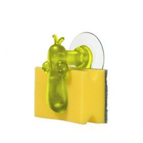 Koziol 004.110500.007 Держатель для губки NorBert, оливковый | Rustirka.RU - Интернет-магазин надежной бытовой техники в Москве