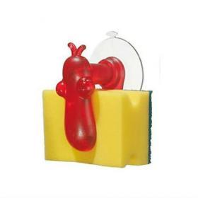 Koziol 004.110500.005 Держатель для губки NorBert, красный | Rustirka.RU - Интернет-магазин надежной бытовой техники в Москве