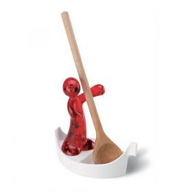 Koziol 004.022700.002 Подставка для ложки Luigi, красный | Rustirka.RU - Интернет-магазин надежной бытовой техники в Москве