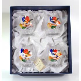 Anorinver K 4 W IMP Четыре стакана для виски, декор разный, п/у (картон) | Rustirka.RU - Интернет-магазин надежной бытовой техники в Москве