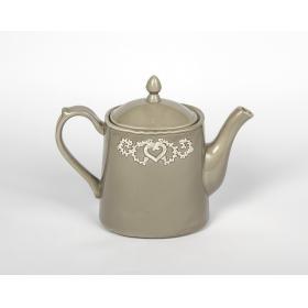 21069100 чайник заварочный Jianwen, темно-серый, керамика (доломит) | Rustirka.RU - Интернет-магазин надежной бытовой техники в Москве