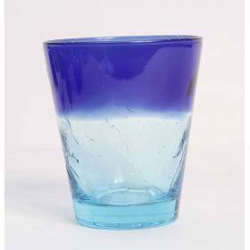 KRA/0008 бокал для виски Union Victors, Кракле, синий | Rustirka.RU - Интернет-магазин надежной бытовой техники в Москве