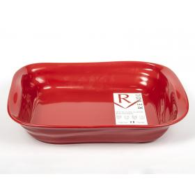 Revol FR0738-137 Мятое блюдо для запекания 38 см. Froisses красный перец   Rustirka.RU - Интернет-магазин надежной бытовой техники в Москве