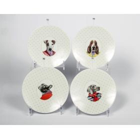 Medard de Noblat C4AN61293T00 набор коктейльных тарелок 4 шт.   Rustirka.RU - Интернет-магазин надежной бытовой техники в Москве