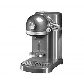 Кофеварка KitchenAid Nespresso Artisan 5KES0503EMS серебряный медальон | Rustirka.RU - Интернет-магазин надежной бытовой техники в Москве