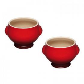 Набор тарелок для супа 0,6 л 2шт Вишня LE CREUSET  91017511060000 | Rustirka.RU - Интернет-магазин надежной бытовой техники в Москве