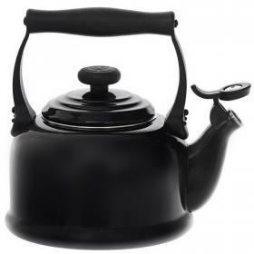 Чайник Trad 2.2л Черный глянец LE CREUSET  92000800140000 | Rustirka.RU - Интернет-магазин надежной бытовой техники в Москве