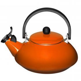 Чайник  ZEN оранжевый LE CREUSET  92009600090000 | Rustirka.RU - Интернет-магазин надежной бытовой техники в Москве