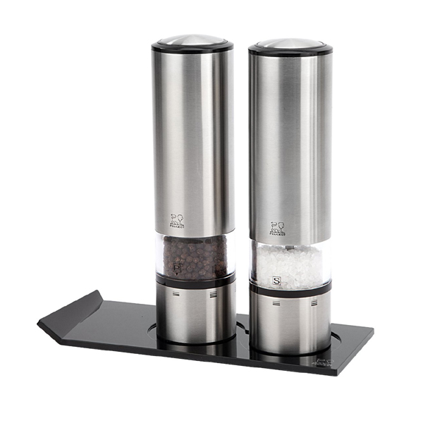 Набор 2 предмета электрических мельниц для соли и перца 20 см нерж.сталь Peugeot Elis sense 2/27162 | Rustirka.RU - Интернет-магазин надежной бытовой техники в Москве