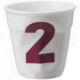 Мятый стакан для капуччино Revol Фруаз RGO0118-1-2117 | Rustirka.RU - Интернет-магазин надежной бытовой техники в Москве
