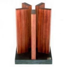 STH-1 Блок для ножей KAI, гранит/красное дерево | Rustirka.RU - Интернет-магазин надежной бытовой техники в Москве