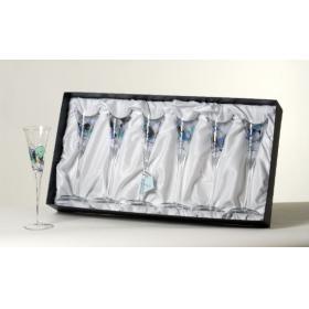 Anorinver, K 6 T AC Шесть бокалов для шампанского свадебных Аквамарина | Rustirka.RU - Интернет-магазин надежной бытовой техники в Москве