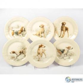 1631B6CD26 Набор тарелок десертных (Собаки) Gien | Rustirka.RU - Интернет-магазин надежной бытовой техники в Москве