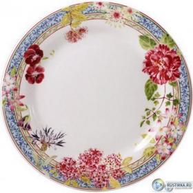 1643B6A450 Тарелка обеденная Gien, Многоцветие, 27,4 см. | Rustirka.RU - Интернет-магазин надежной бытовой техники в Москве