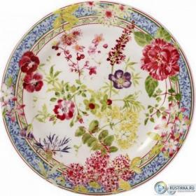 1643B6AB50 Тарелка десертная Gien, Многоцветие, 22 см. | Rustirka.RU - Интернет-магазин надежной бытовой техники в Москве