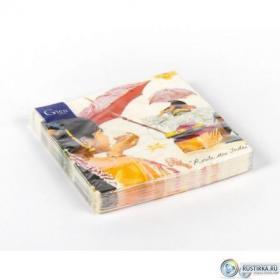 8004CRILSE Салфетки бумажные Gien, Индия, 16х16 см.   Rustirka.RU - Интернет-магазин надежной бытовой техники в Москве