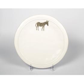 21078610-2 тарелка Ослик Jianwen, керамика (доломит) | Rustirka.RU - Интернет-магазин надежной бытовой техники в Москве