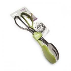 HB0146CK Щипцы для салата Anzo, пластик, зеленый, прозрачно-серый | Rustirka.RU - Интернет-магазин надежной бытовой техники в Москве