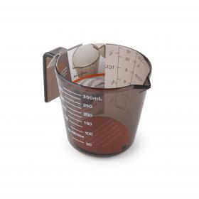 HB4450BK Стакан мерный Anzo, 300 мл., пластик, прозрачно-коричневый | Rustirka.RU - Интернет-магазин надежной бытовой техники в Москве