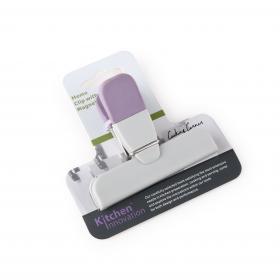 HB5905CK Прищепка с магнитом Anzo, пластик/силикон, форма Т, фиолетовый | Rustirka.RU - Интернет-магазин надежной бытовой техники в Москве