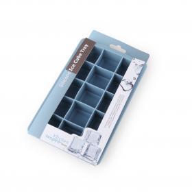 SA0929IS Форма для льда Anzo, 15 квадратных ячеек, силикон, синий | Rustirka.RU - Интернет-магазин надежной бытовой техники в Москве