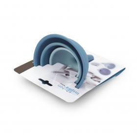 SA1054IS Набор из 3-х воронок Anzo, силикон, темно-синий, синий и голубой | Rustirka.RU - Интернет-магазин надежной бытовой техники в Москве